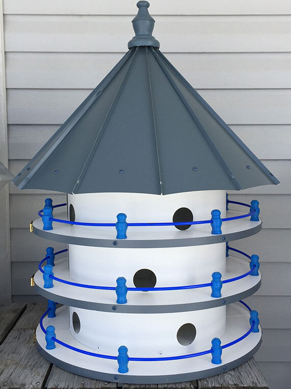 Aluminum & Vinyl Purple Martin House